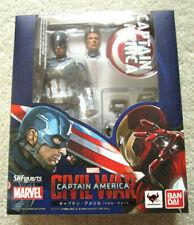 NEW Authentic Tamashii S.H. Figuarts Marvel Avengers Civil War Captain America