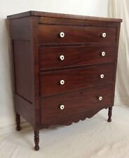 Antique Early 1800s Sheraton Chest