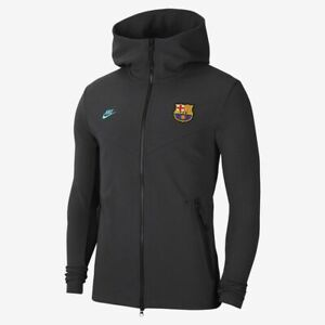 NIKE FC BARCELONA TECH PACK FULL ZIP HOODIE 2019/20