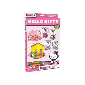 NEW Hello Kitty Papercraft Activity Set Childrens Art Craft Activity