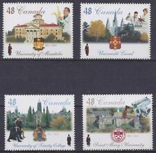 Canada 2002 #1941-44 Universities (Mb, Laval, Trinity C., St. Mary's) - Mnh