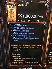 Diablo 3 PATCH 2.6.1 MODDED NECROMANCER CORRODED FANG POWER LEVEL WEAPON