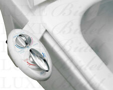 Luxe Bidet Neo 320. Toilet Attachment. Warm Water. Self-Cleaning. Dual Nozzles.