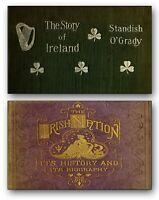 450 Old Irish History & Genealogy Books 3 DVDs - Eire Ireland Celtic Gaelic 296