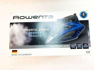 Rowenta DW5192U1 1750W Pro Steam Iron - Mink Grey/Corsican Blue- New/Open Box