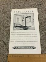 VINTAGE 1920'S FRIGIDAIRE GENERAL ELECTRIC AD REAL NICE TAKE A LOOK  B& W