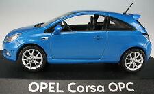 NOREV - OPEL Corsa OPC - blau metallic - 1:43 - NEU in OVP - Modellauto