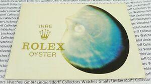 """ROLEX """"IHRE ROLEX OYSTER"""" - Heft / Booklet 1980er J. - DEUTSCH Ref. 579.08"""