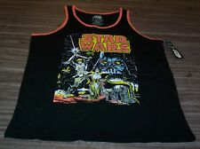 VINTAGE STYLE STAR WARS A NEW HOPE SLEEVELESS TANKTOP SHIRT LARGE NEW w/ TAG