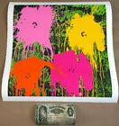 FLOWARH$ Mr. Brainwash MBW signed & Limited to only 93! POP ART print Warhol