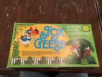 Vintage Fox & Geese Board Game by West Enterprizes Complete