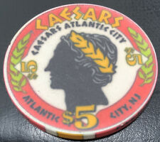 New ListingCaesar's Atlantic City - $5 Casino Chip - New Jersey Nj Casino Chipco