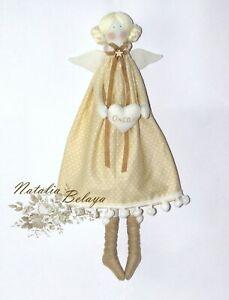 Cloth Tilda Doll Stuffed Rag Doll Unique Art Doll Christmas Gift f Granddaughter