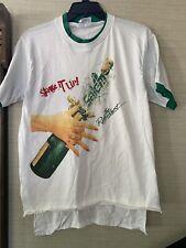 Vtg 90's Salem Cigarettes The Refreshest Shake it Up Double Collar T Shirt Men L