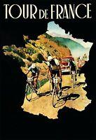 Tour de France Blechschild Schild gewölbt Metal Tin Sign 20 x 30 cm FA1776
