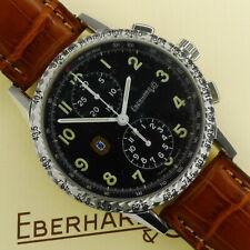 "Eberhard & Co ""Tazio Nuvolari"" Edelstahl Automatik Chronograph Ref. 31036 CP Neu"