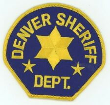 DENVER COUNTY SHERIFF COLORADO CO SEE BELOW FOR GREAT DEAL