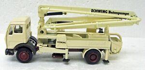 Mercedes Schwing BPL600HD KVM23 Concrete Pump 1/50 NZG 170 West Germany MB