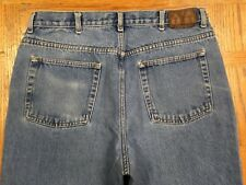 CALVIN KLEIN RELAXED STRAIGHT EASY FIT VINTAGE JEANS SZ 35/30 Tag 36/30 BEST G93