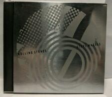 Rolling Stones Steel Wheels Limited Edition Stainless Steel Metal Case NM