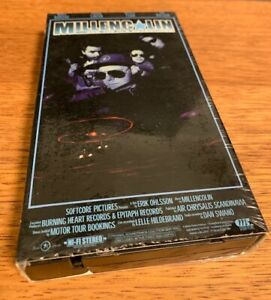 Millencolin and The Hi-8 Adventures VHS Skate Punk 1998 Documentary