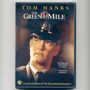 Green Mile 1999 R Stephen King prison movie, new DVD Tom Hanks, Bonnie Hunt