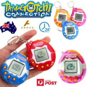 TAMAGOTCHI Connection VIRTUAL Cyber PET Gift ELECTRONIC Kids RETRO Key Ring TOY