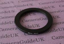 58mm to 46mm 58-46 Male-Female Stepping Step Down Filter Ring Adapter 58mm-46mm