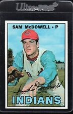 1967 TOPPS #295 SAM McDOWELL Cleveland Indians sharp/CENTERED NM/MT