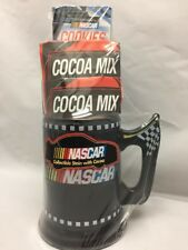 NASCAR Collectible Stein Black Beer Mug (2003) with NASCAR Cookies and Cocoa Mix