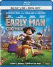 Early Man (Blu-ray + DVD + Digital Copy) (Bili New Blu