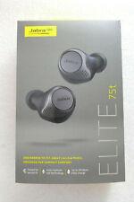 Jabra Elite 75t Titanium Black True Wireless Headphones