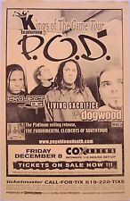 "P.O.D./Project 86/Dogwood ""Kings Of The Game Tour"" 2000 San Diego Concert Poster"