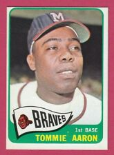 1965 Topps # 567 Tommie Aaron -- Milwaukee Braves -- Box 722-501