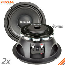 2x PRV Audio 6MR500-NDY-4 Mid Range Neodymium 6.5