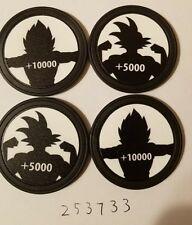 4x +Power Tokens for DragonBall Super Card Game