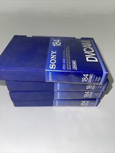 DVCam Tape PDV-184N Brand New (Set Of 4)