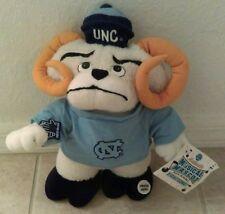 "UNC TARHEELS NCAA 13"" Musical Mascot Team Crossbars Applause Plush NWT RARE"