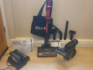 Shark DuoClean Anti-Allergen Red Cordless Handheld Vacuum Cleaner - IF260UKTH