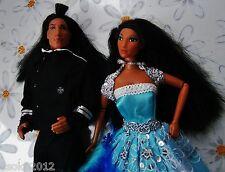 Barbie Disney Mattel Doll Pocahontas Ken Cocouma Art Set Lot Sammlung Konvult