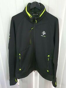 RLX Ralph Lauren Black Athletic ActiveWear Sports Golf Jacket - Size XL