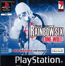 ★★ Jeu PS1:  Rainbow Six : Lone Wolf ★★