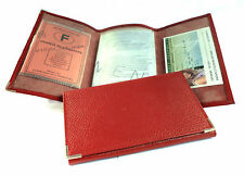 Porte papiers de voiture etui pochette pour carte grise permis en cuir NEUF