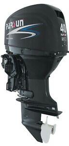 40HP EFI PARSUN OUTBOARD MOTOR Forward Control Tilt / Trim Short Shaft 4-Stroke