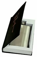 Holy Bible 4 oz Stainless Steel Flask-Secret Compartment