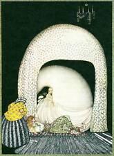Original Vintage Kay Nielsen Art Deco Nouveau Print 1976 East of the Sun
