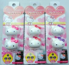 3pc HELLO KITTY Head Car Air Fresheners Perfume Diffuser - Twin Pack Great Smell