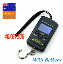 40KG/10G Electronic Pocket Digital Scales Weight Fishing Travel Luggage