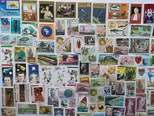 300 Different Gabon Stamp Collection