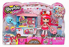 SHOPKINS SHOPPIES Collection_DONATINA'S Donut Delights_Doll, Cart + 2 Exclusives